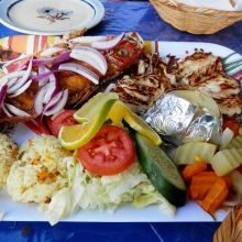 Albertos Restaurants Cozumel Food